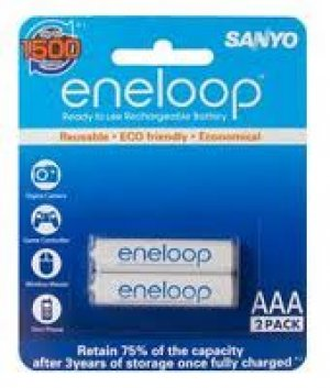 Battery Sanyo Eneloop AAA Rechargeable
